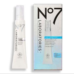 NIB No7 Laboratories Line Correcting Booster Serum